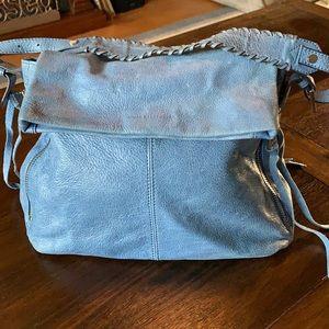 Aimee Kestenberg Blue Hobo Bag